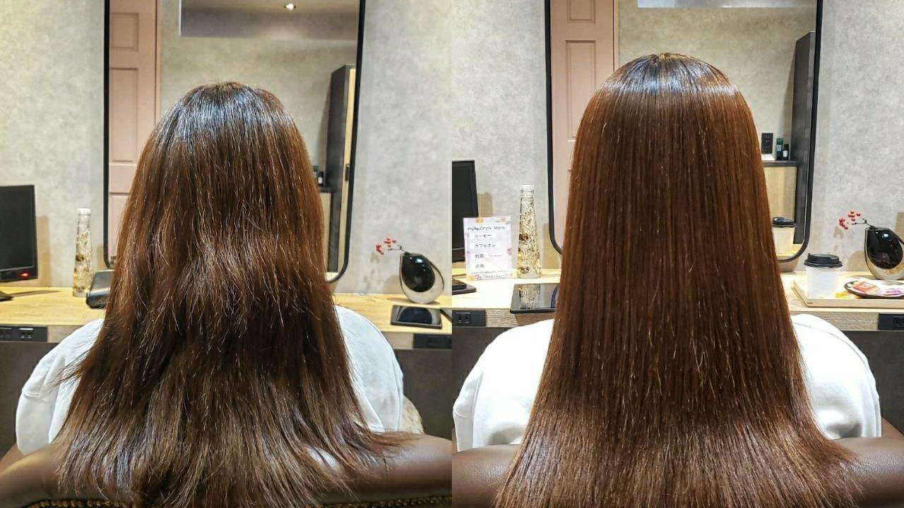髪質改善ス髪質改善